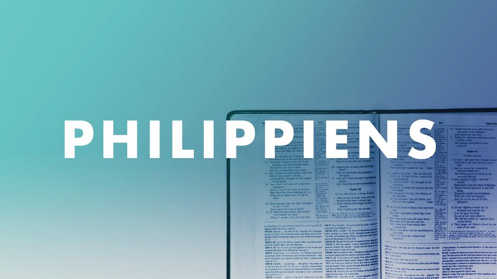 Étude de l'épître aux Philippiens