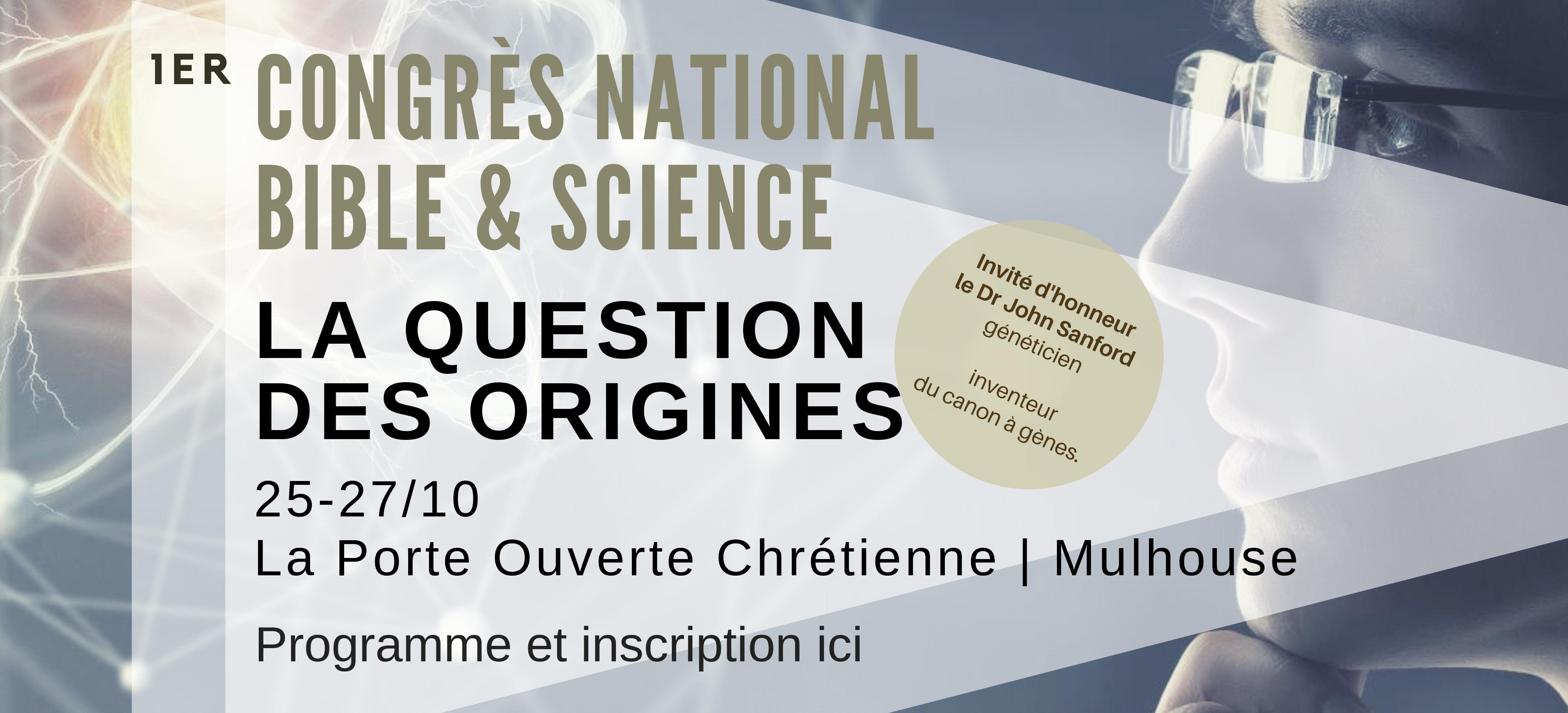 CONGRÈS SCIENTIFIQUE